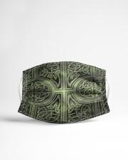 irish celtic pattern mask Cloth face mask aos-face-mask-lifestyle-22
