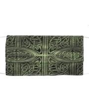 irish celtic pattern mask Cloth face mask front