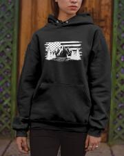 outdoor camping american flag Hooded Sweatshirt apparel-hooded-sweatshirt-lifestyle-front-03