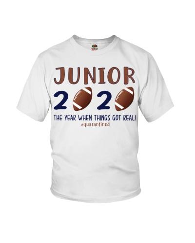 junior football 2020 quarantine