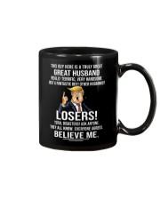 this husband great trump shirt Mug tile