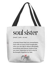 soul sister definition All-Over Tote tile