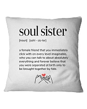 soul sister definition Square Pillowcase tile