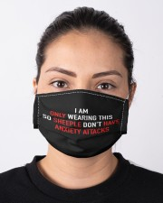 only wearing so sheeple dont have anxiety Cloth face mask aos-face-mask-lifestyle-01