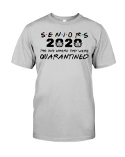 Seniors 2020 the one where they were quarantined Classic T-Shirt thumbnail
