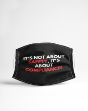 It's Not About Safety Cloth face mask aos-face-mask-lifestyle-22