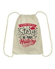 1st grade-history-red Drawstring Bag thumbnail
