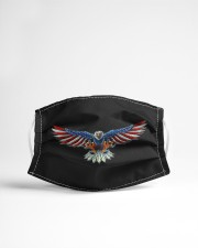 Patriotic eagle Cloth face mask aos-face-mask-lifestyle-22