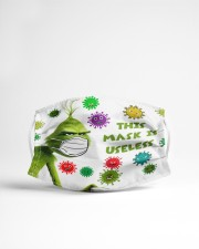 This mask is useless - g r i n c h Cloth face mask aos-face-mask-lifestyle-22