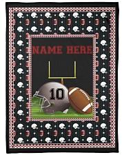 "Personalized Football Large Fleece Blanket - 60"" x 80"" thumbnail"