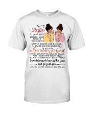 To my bestie when times get hard Classic T-Shirt thumbnail