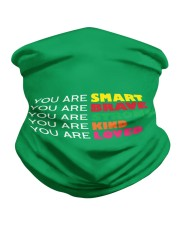you are smart Neck Gaiter tile