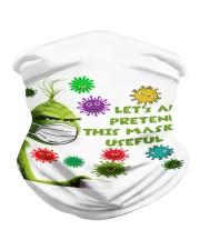 Let's All Pretend msk Is Useful - g r i n c h Neck Gaiter tile