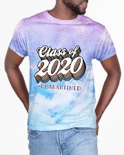 Class of 2020 quarantined tie dye purple sky All-over T-Shirt aos-all-over-T-shirt-lifestyle-front-04