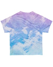 Class of 2020 quarantined tie dye purple sky All-over T-Shirt back