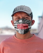 FREEDOM does not look like this flag Cloth face mask aos-face-mask-lifestyle-06