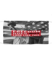 FREEDOM does not look like this flag Cloth face mask front