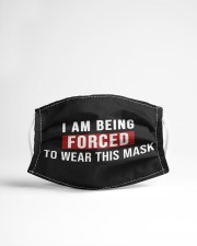 I Am Being Forced To Wear This Mask Cloth face mask aos-face-mask-lifestyle-22