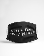 Stay 6 feet away please Cloth Face Mask - 3 Pack aos-face-mask-lifestyle-22