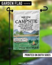 """Personalized Camping  Garden Flag 2 11.5""""x17.5"""" Garden Flag aos-garden-flag-11-5-x-17-5-lifestyle-front-08"""