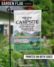 """Personalized Camping  Garden Flag 2 11.5""""x17.5"""" Garden Flag aos-garden-flag-11-5-x-17-5-lifestyle-front-13"""
