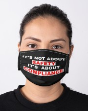 It's not about SAFETY It's about COMPLIANCE Cloth face mask aos-face-mask-lifestyle-01