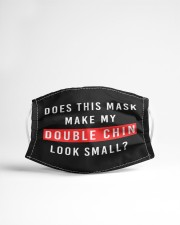 Mask make my double chin look small Cloth face mask aos-face-mask-lifestyle-22