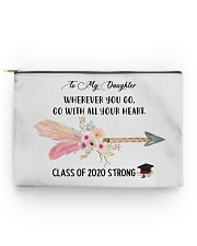 To my DAUGHTER class of 2020 strong mug pouch tee Accessory Pouch - Standard front