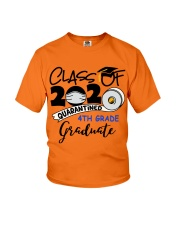 4th grade graduate  Youth T-Shirt front