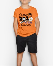 4th grade graduate  Youth T-Shirt lifestyle-youth-tshirt-front-1