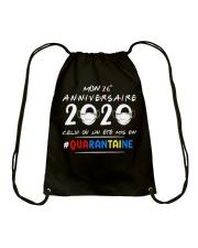 HTH Mon 26e anniversaire Drawstring Bag thumbnail