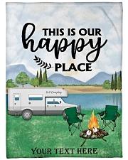 "Personalized Camping Blanket 8 Large Fleece Blanket - 60"" x 80"" thumbnail"