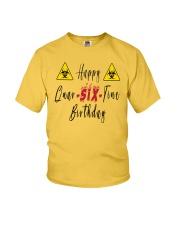 Happy Quar-Six-Tine Birthday Youth T-Shirt tile