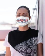 Peace love america Cloth face mask aos-face-mask-lifestyle-04