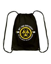 My 2nd Birthday-Quarantined Drawstring Bag thumbnail