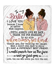 To my bestie the one who needs you till the end Quilt tile