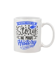 1st grade-history-green blue Mug tile