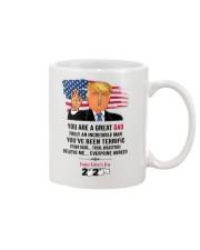 hqh994 trump dad father day 2020 mug toilet  Mug front