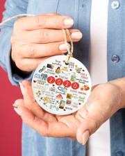 Ceramic Christmas Ornament Circle ornament - single (porcelain) aos-circle-ornament-single-porcelain-lifestyles-01