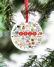 Ceramic Christmas Ornament Circle ornament - single (porcelain) aos-circle-ornament-single-porcelain-lifestyles-07