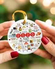 Ceramic Christmas Ornament Circle ornament - single (porcelain) aos-circle-ornament-single-porcelain-lifestyles-08