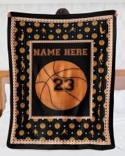 """Personalized Basketball Large Sherpa Fleece Blanket - 60"""" x 80"""" aos-sherpa-fleece-blanket-60x80-lifestyle-front-23"""