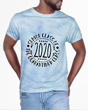 Class of 2020 tie dye blue sky All-over T-Shirt aos-all-over-T-shirt-lifestyle-front-04