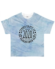Class of 2020 tie dye blue sky All-over T-Shirt front