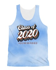 Class of 2020 quarantined tie dye blue sky All-over Unisex Tank thumbnail
