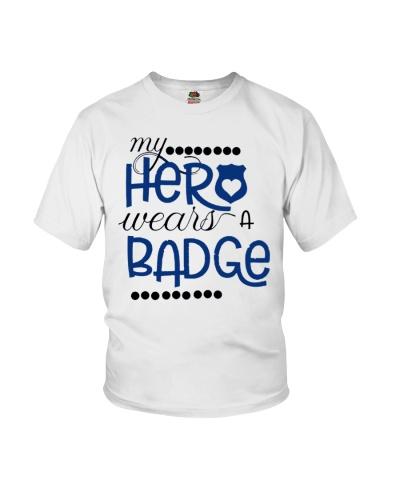My hero wear a badge
