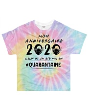 HTH Mon anniversaire Tie Dye All-over T-Shirt front