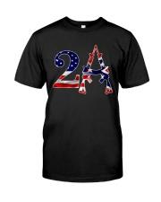 2nd amendment american flag southern mask Classic T-Shirt thumbnail