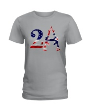 2nd amendment american flag southern mask Ladies T-Shirt thumbnail