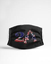 2nd amendment american flag southern mask Cloth face mask aos-face-mask-lifestyle-22